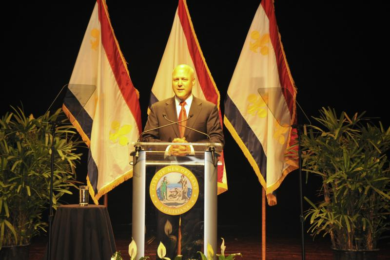 Mayor Landrieu outlines his administration's accomplishments and goals in his second State of the City address.
