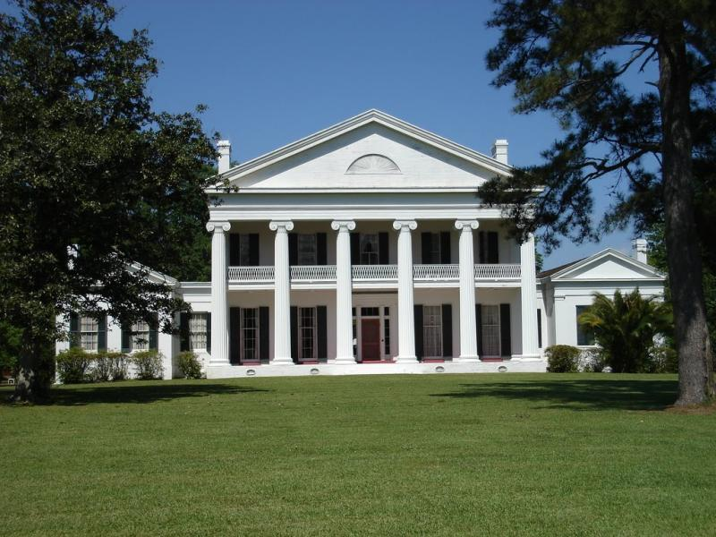 Madewood Plantation in Napoleonville.