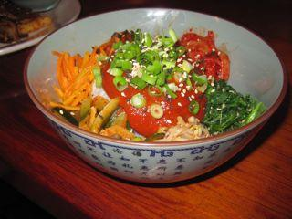 The Korean flavors are fresh, bold and entirely vegan at the Wandering Buddha.