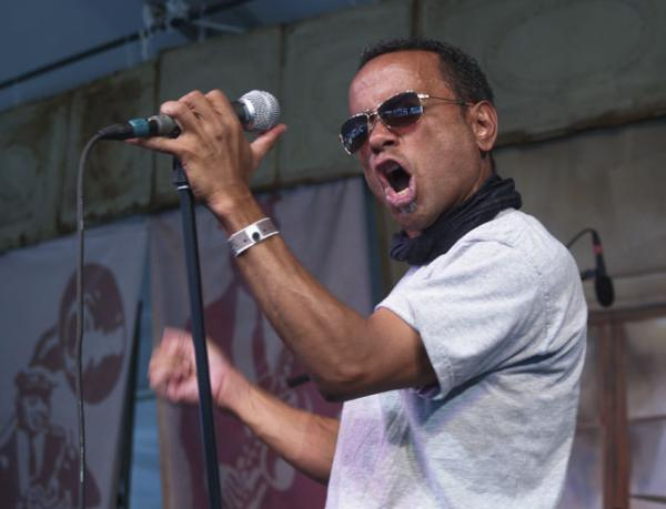 John Boutté at the 2008 Voodoo Music Experience festival.