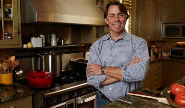 Chef John Besh decided to film an entire season of programs at his home on the North Shore.