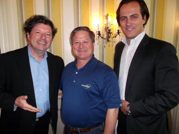 Peter Ricchiuti, Amedisys' Bill Borne, and the WTC's Dominik Knoll.