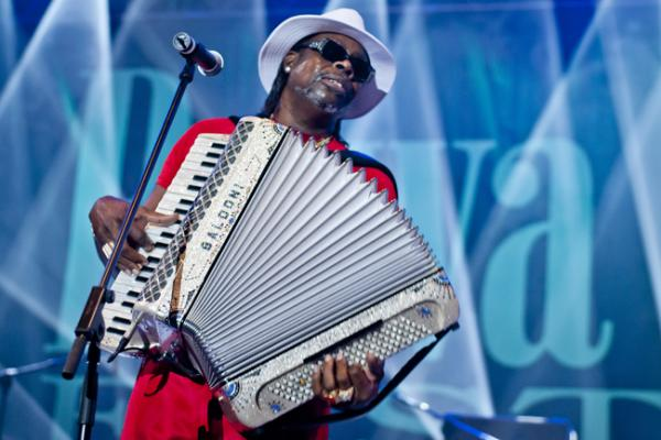 C.J. Chenier at the 2011 Rawa Blues Festival in Poland.