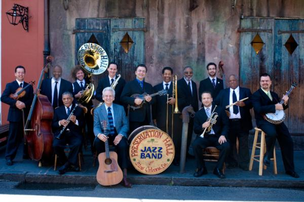 Del McCoury and the Preservation Hall Jazz Band will play Saturday, Jazz Fest May 5.