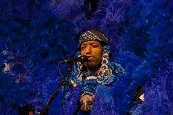 Donald Harrison, Jr. — saxophonist and Mardi Gras Indian chief.