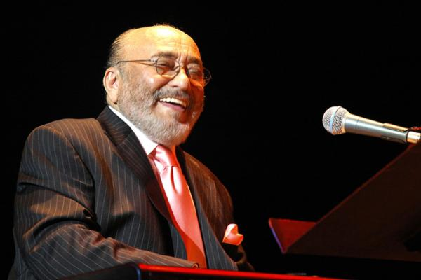 Pianist, composer and bandleader Eddie Palmieri.
