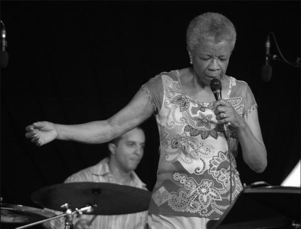 New Orleans jazz singer Germaine Bazzle.
