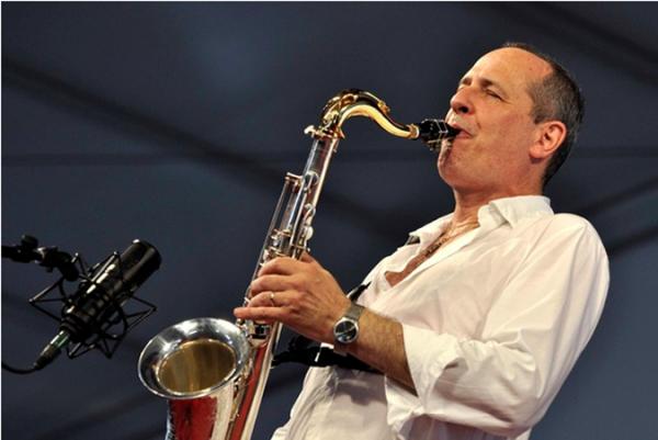 Saxophonist Tony Dagradi.