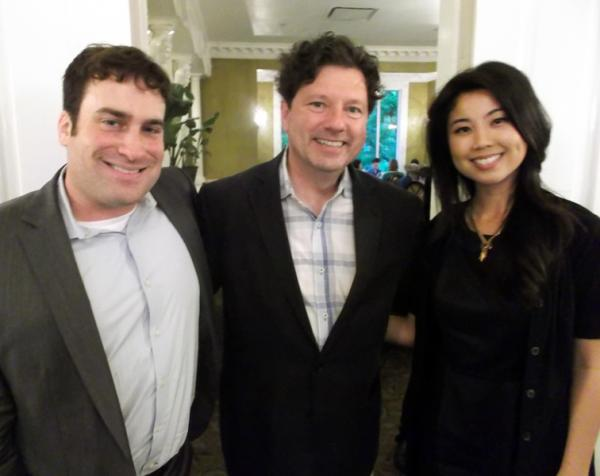Chris Boyd, Peter Ricchiuti and Marianne Rodriguez.