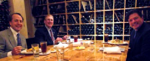 Doug Downing, Gary LaGrange and Peter Ricchiuti.