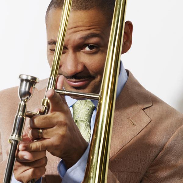 Trombonist Delfeayo Marsalis.