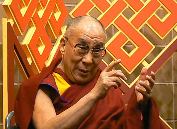The Dalai Lama, at a press conference in New Orleans last week.