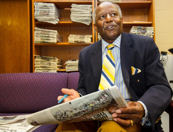 Southern University's John Penny talks about what a newspaper means to a community.