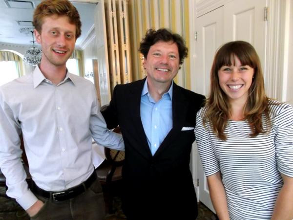 Kevin Morgan Rothschild, Peter Ricchiuti and Megan Nuismer.