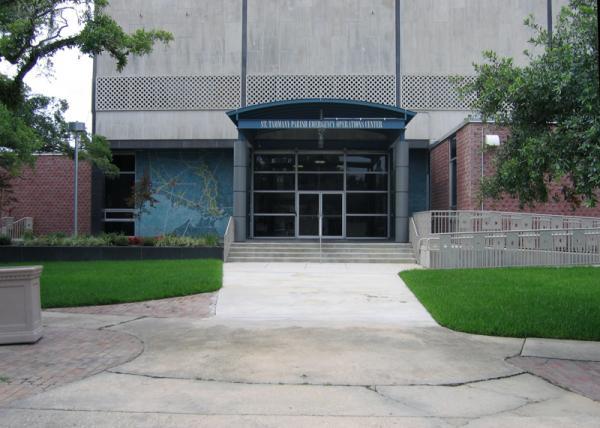 The St. Tammany Parish Emergency Operations Center.