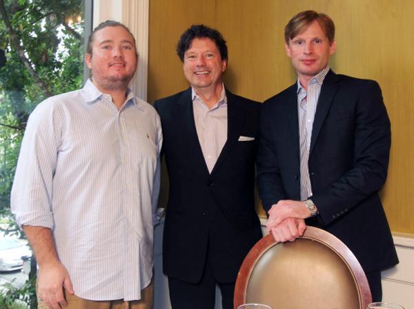 A.J. Niland, Peter Ricchiuti and Andre Champagne.
