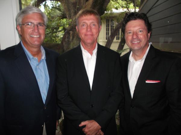 Burt Benrud, Drew Bevolo and Peter Richiutti.