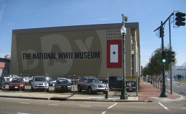 Located at the intersection of Andrew Higgins Dr. and Magazine St., the World War II Museum opened on June 6, 2000.