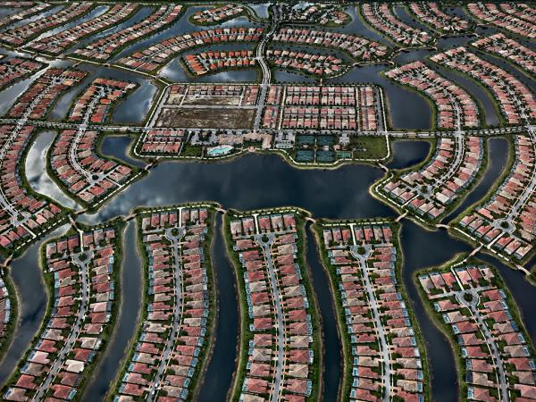 VeronaWalk, Naples, Florida, USA 2012, by Edward Burtynsky. The world premiere of his latest body of work is a highlight of this year's Arts for Arts' Sake.