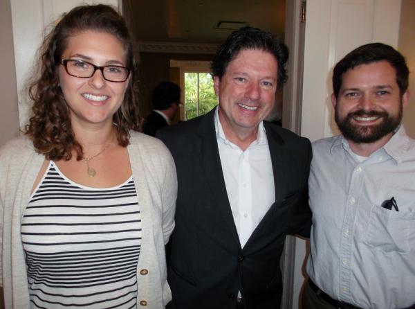 Tess Monaghan, Peter Ricchiuti and Seth Hamstead.