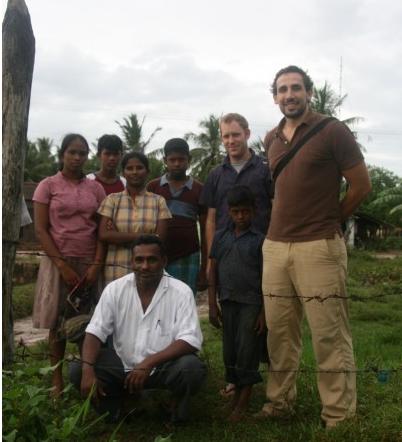 Jesse in Sri Lanka