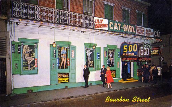 The 500 Club on Bourbon Street.