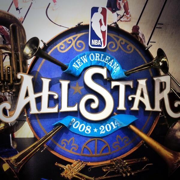 The 2014 NBA All-Star Game has taken over the Crescent City this weekend.