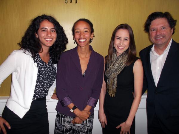 Dana Keren, Latona Giwa, Angelle Missios and Peter Ricchiutti.
