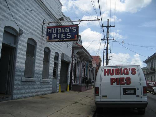 Hubig's, before the fire.