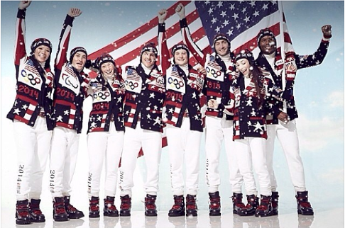 U.S. team wear: ugly grandmother sweaters?