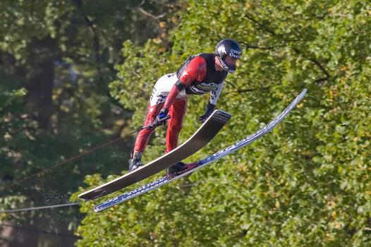 Ski jumping Southern style: not a Winter Olympic sport