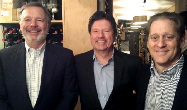 Jay Monroe, Bobby Savoie and Peter Ricchiuti.