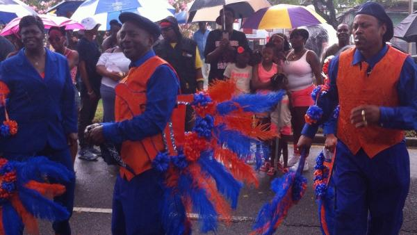 Dancing on Elysian Fields, Original Big 7 Social Aid and Pleasure Club Mother's Day second line.