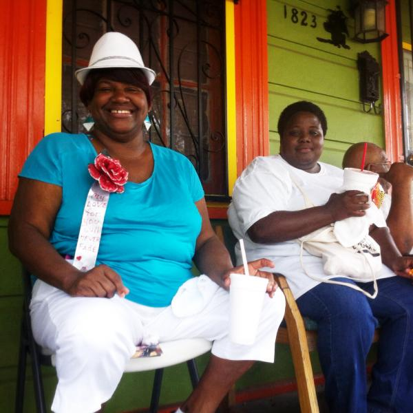 Celebrating Mother's Day on Elysian Fields, Original Big 7 Social Aid and Pleasure Club Mother's Day second line.