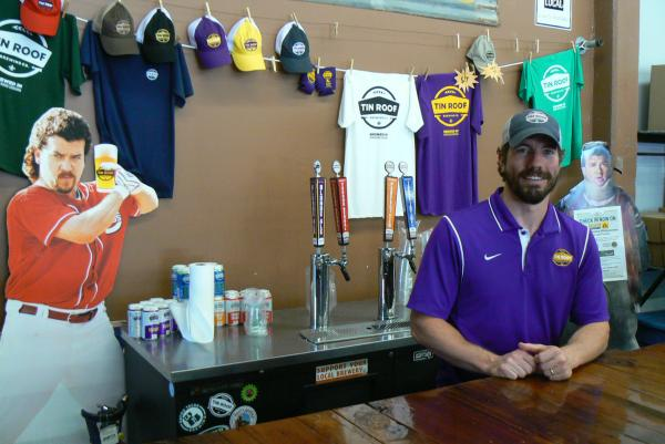 Tin Roof Brewing Company's William McGeeHee has plans of building a tap room at his brewery in Baton Rouge, where he'll be able to serve specialty-crafted, small-batch beers to guests.