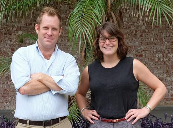 Reporter Jesse Hardman and producer Laine Kaplan-Levenson.