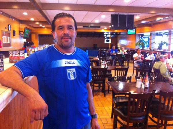 José Alvarado runs the Casa Honduras restaurant in New Orleans East.