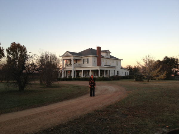 Jeanie Riess, living and working in the Mississippi Delta, all alone...