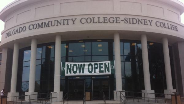Delgado Community College-Sidney Collier campus.