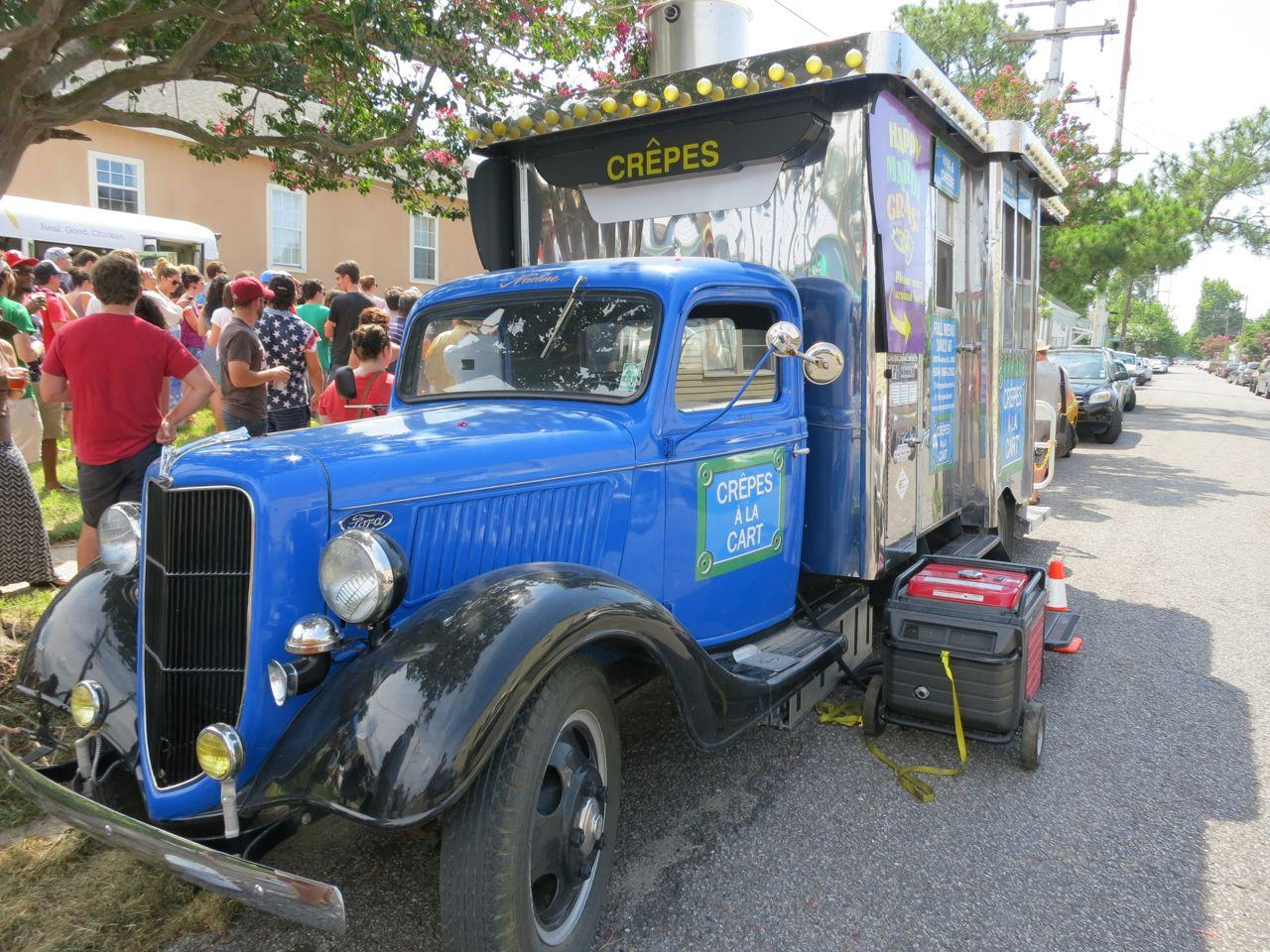 The Crepes A La Cart Food Truck Is Among Vendors Taking Part In New St Claude Park