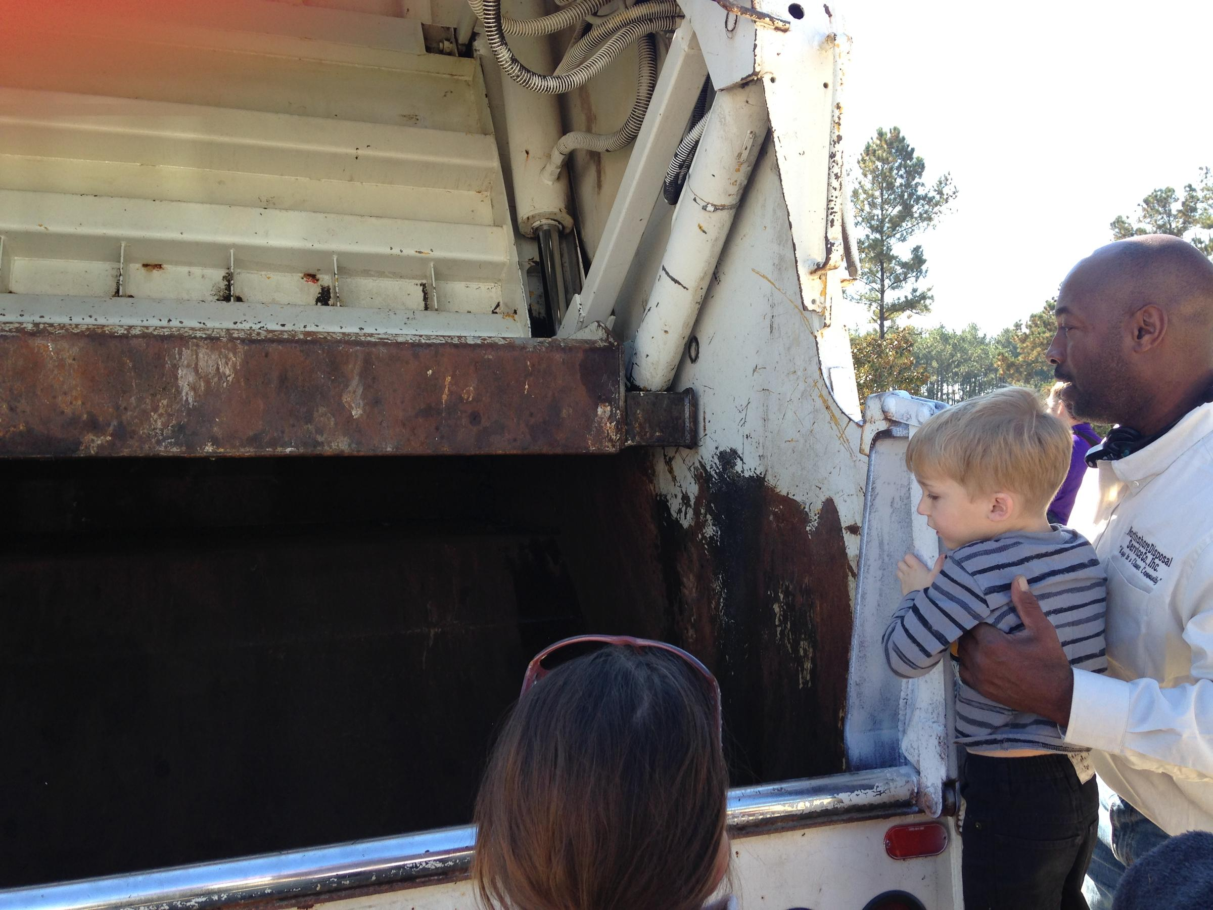 event connects kids and cops with dump trucks wwno