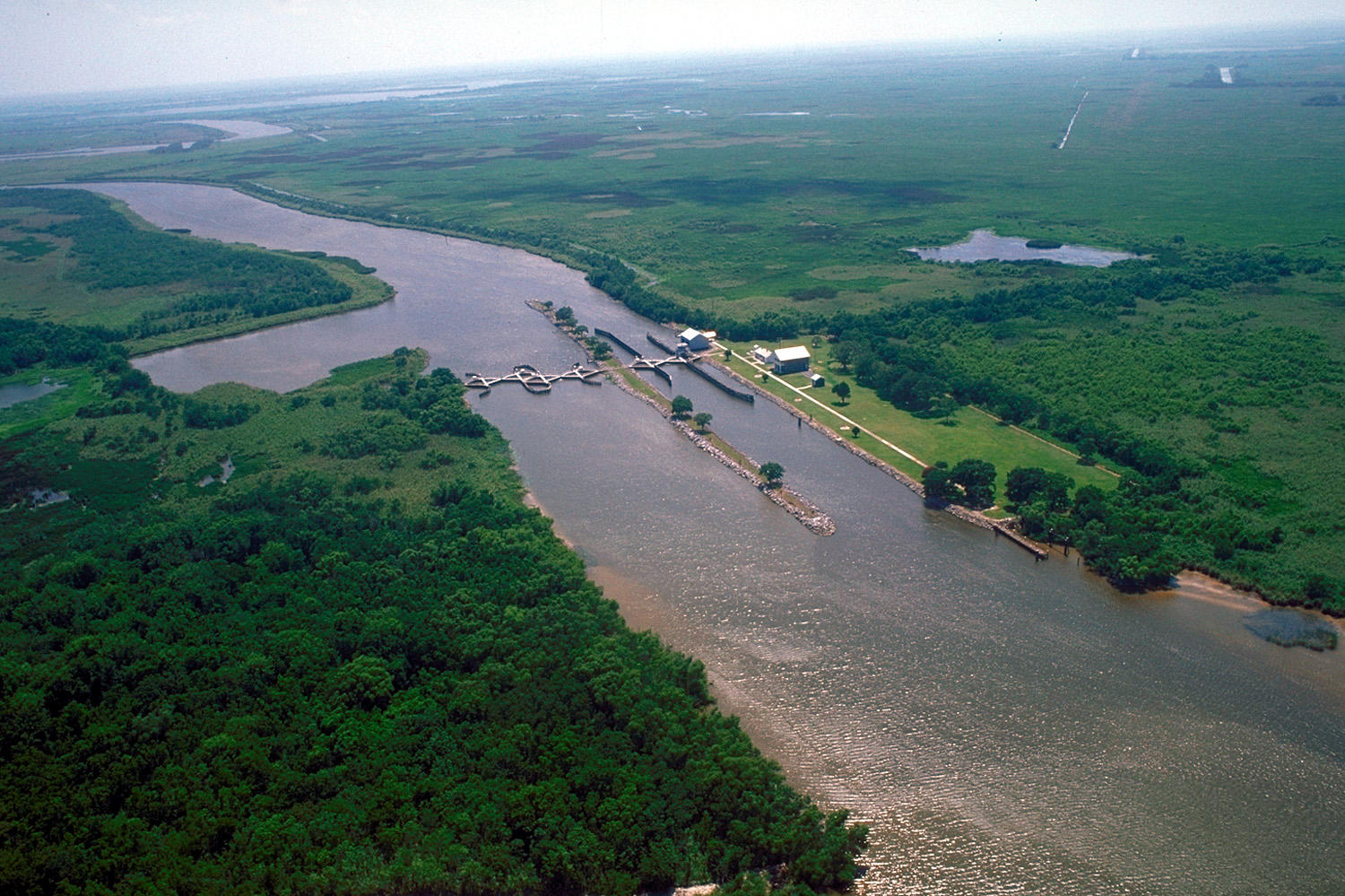 Certificate program seeks to ready workforce for water sector wwno the catfish point control structure lock on the mermentau river in coastal louisiana is an example of the kind of structures coastal engineers design to xflitez Images