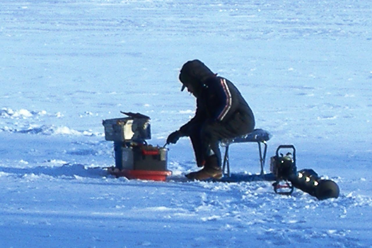 Prime ice fishing time is here wxpr for Wisconsin out of state fishing license