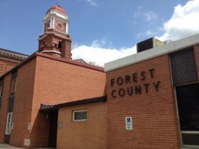 Defendant Trevor Lenz was sentenced Thursday in Forest County court.