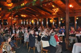 Members enjoying WXPR's 30th Anniversary event