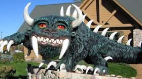 Hodag at the Rhinelander Chamber of Commerce