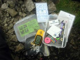 Geocaching is a popular way to spend time outdoors.