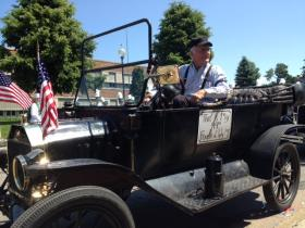 George Scholz has been driving this Model T since the age of 10.