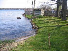 A Wisconsin shoreline