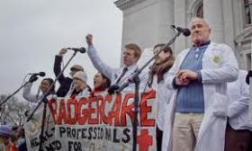 Badgercare rally